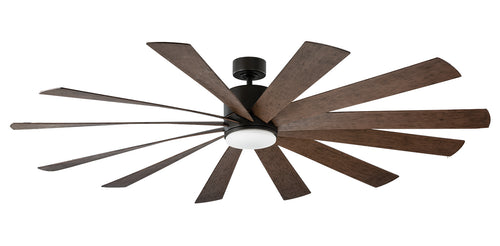 80 inch Windflower Ceiling Fan - Oil Rubbed Bronze Finish with light