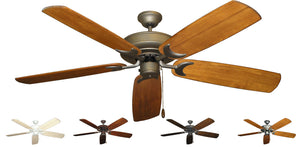 60 inch Raindance Ceiling Fan - Arbor 450 Blades - tropical-fan-company