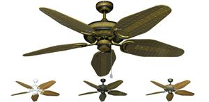 52 inch Atlantis - Weave Style Blades - tropical-fan-company