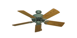 44 inch Dixie Belle - Verde Green - Your Choice of 16 blade colors - tropical-fan-company