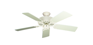 44 inch Dixie Belle - Antique White - tropical-fan-company