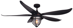 60 inch St. Augustine Ceiling Fan Oil Rubbed Bronze - tropical-fan-company