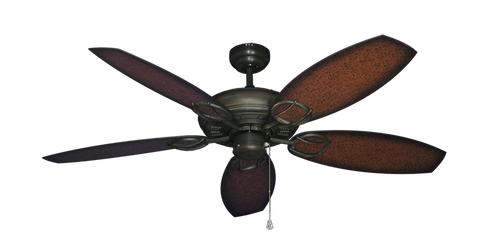 52 inch Trinidad Ceiling Fan - Oar Blades - tropical-fan-company