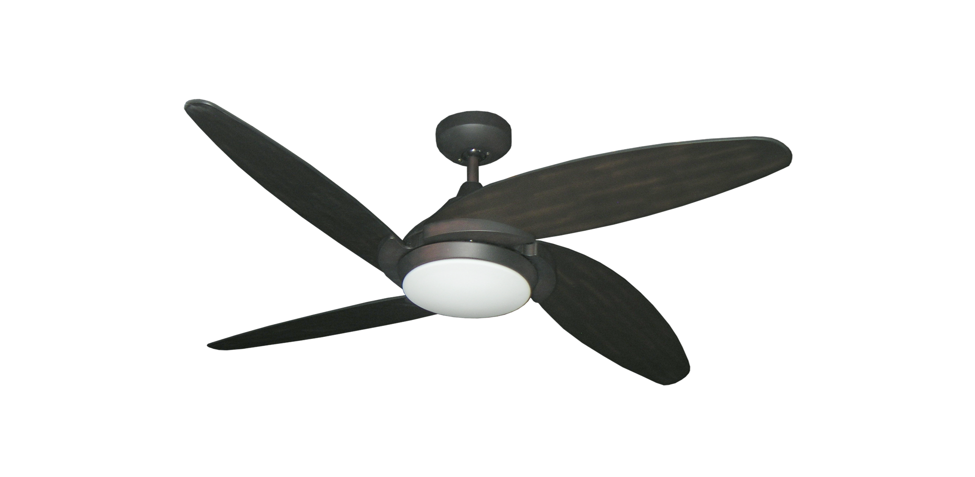 Oil rubbed bronze finish ceiling fan