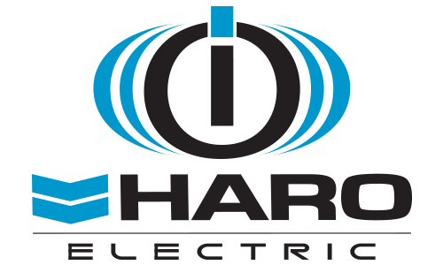 logo of Haro IO Electric in black