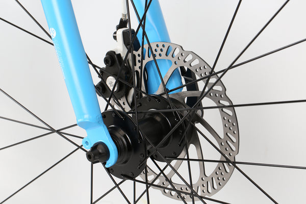 2019 Haro Commuter Aire Sky Blue White Detail 2.