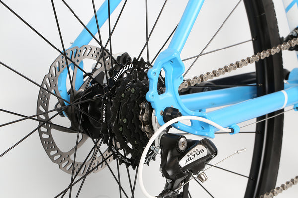 2019 Haro Commuter Aire Sky Blue White Detail 5.