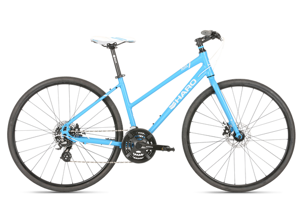 2019 Haro Commuter Aire Sky Blue White.