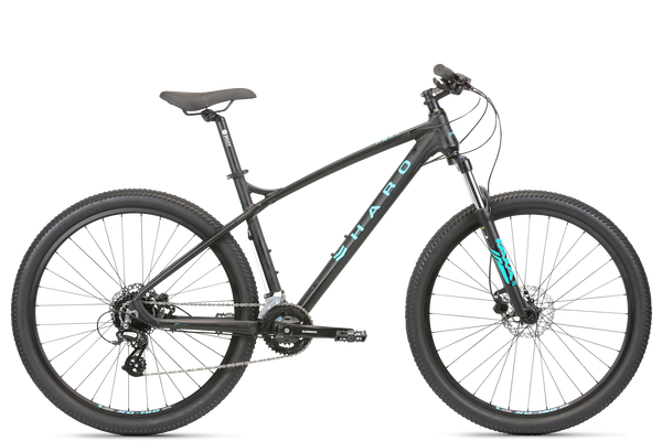 2020 Haro MTB Double Peak 275 Sport Matte Black.