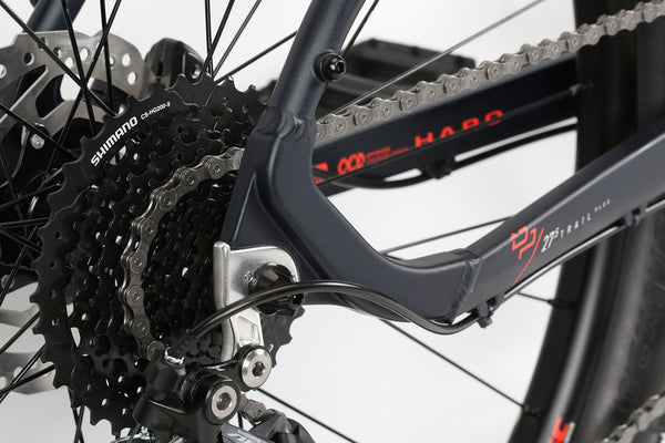 2020 Haro MTB Double Peak 275 Trail Plus Matte Blackberry Detail 4.