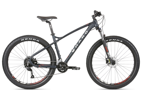 2020 Haro MTB Double Peak 275 Trail Plus Matte Blackberry.