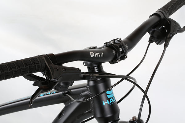 2020 Haro MTB Double Peak 29 Sport Matte Black Detail 1.
