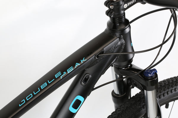 2020 Haro MTB Double Peak 29 Sport Matte Black Detail 2.