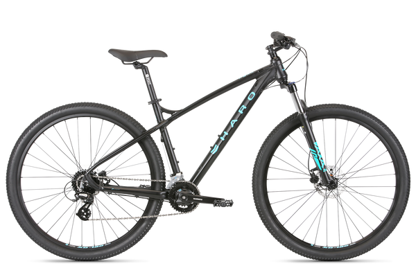 2020 Haro MTB Double Peak 29 Sport Matte Black.
