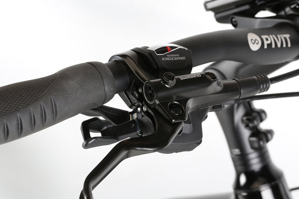 2020 Haro MTB Double Peak IO Commuter Commuter Black Detail 9.