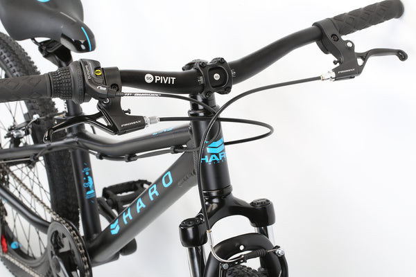 2020 Haro MTB FL 20 Black Blue Detail 1.