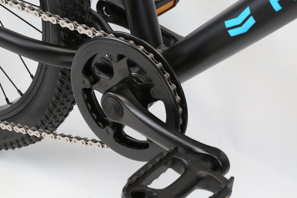 2020 Haro MTB FL 20 Black Blue Detail 3.