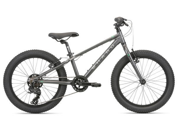 2020 Haro MTB FL 20 Plus Matte Charcoal Green.