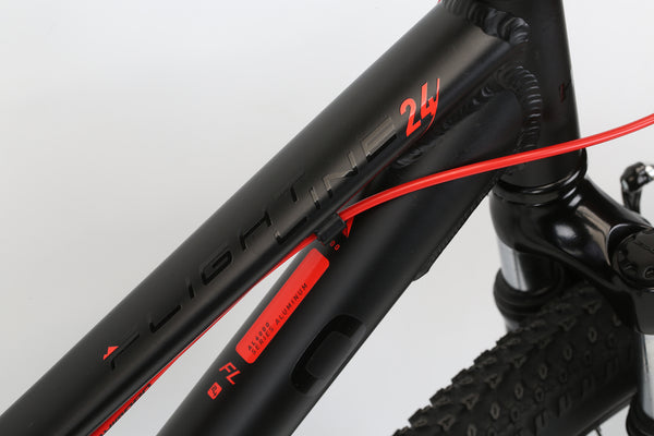 2020 Haro MTB FL 24 Black Detail 3.