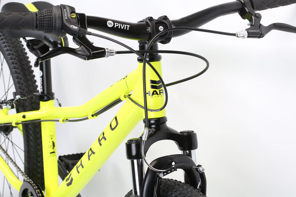 2020 Haro MTB FL 24 Neon Yellow Detail 1.