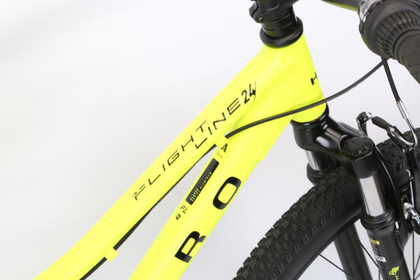 2020 Haro MTB FL 24 Neon Yellow Detail 2.