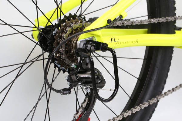 2020 Haro MTB FL 24 Neon Yellow Detail 4.