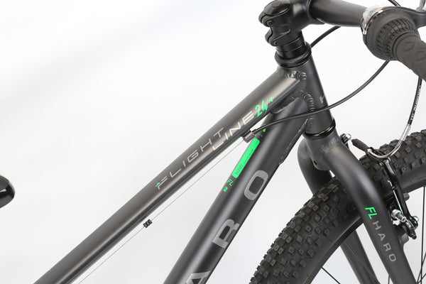 2020 Haro MTB FL 24 Plus Matte Charcoal Detail 2.