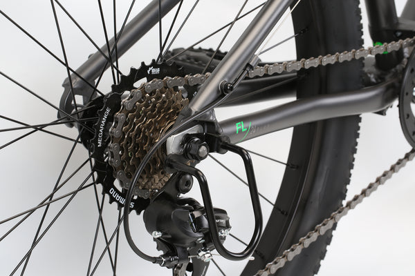 2020 Haro MTB FL 24 Plus Matte Charcoal Detail 4.