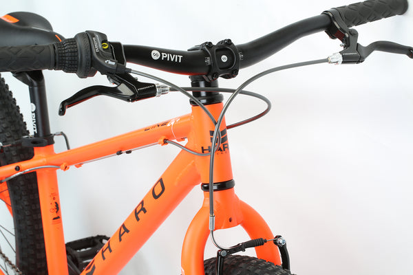 2020 Haro MTB FL 24 Plus Matte Orange Detail 1.