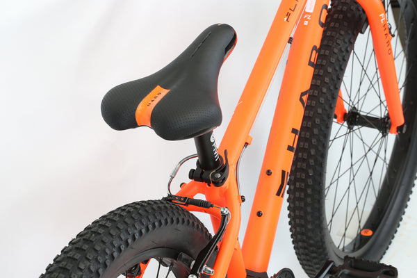 2020 Haro MTB FL 24 Plus Matte Orange Detail 3.