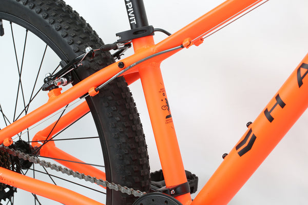 2020 Haro MTB FL 24 Plus Matte Orange Detail 4.