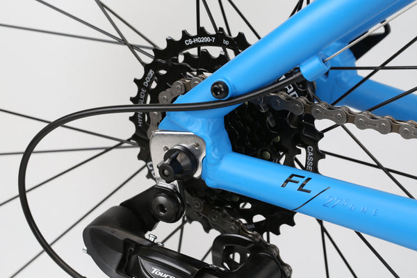 2020 Haro MTB FL One 275 Vivid Blue Detail 4.