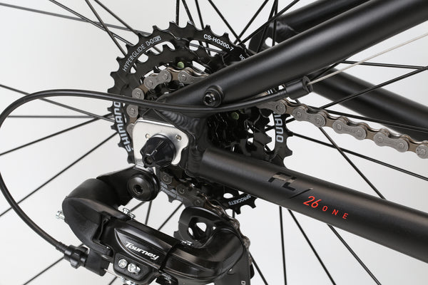 2020 Haro MTB FL One Black Red Detail 4.