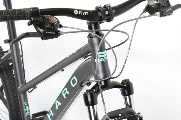 2020 Haro MTB FL One ST Matte Black Detail 1.