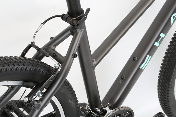 2020 Haro MTB FL One ST Matte Black Detail 3.