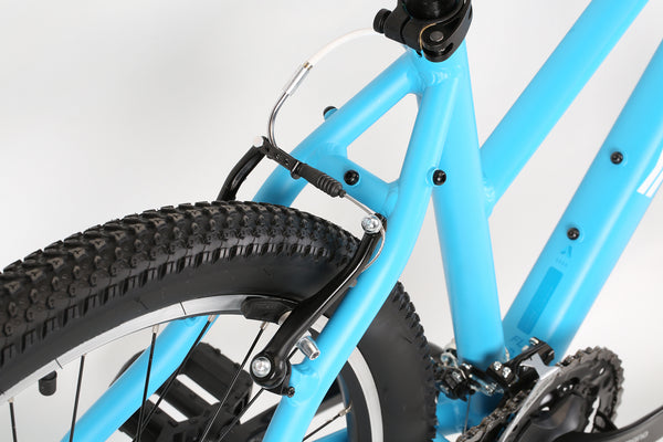 2020 Haro MTB FL One ST Matte Light Blue Detail 3.