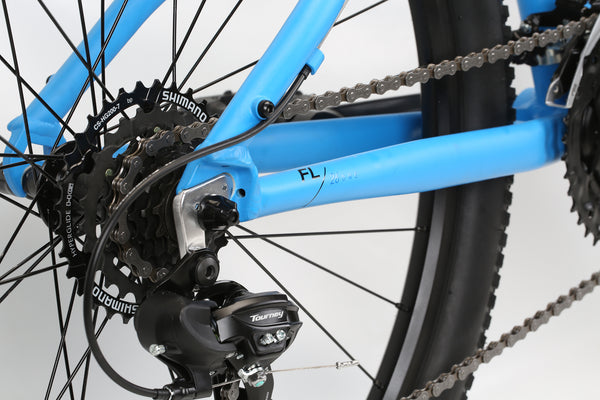 2020 Haro MTB FL One Vivid Blue Detail 4.