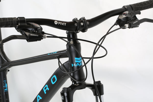 2020 Haro MTB FL Two 275 Matte Black Detail 1.