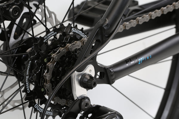 2020 Haro MTB FL Two 275 Matte Black Detail 4.