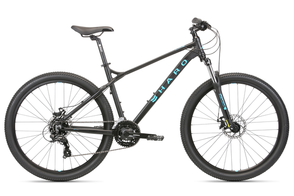 2020 Haro MTB FL Two 275 Matte Black.