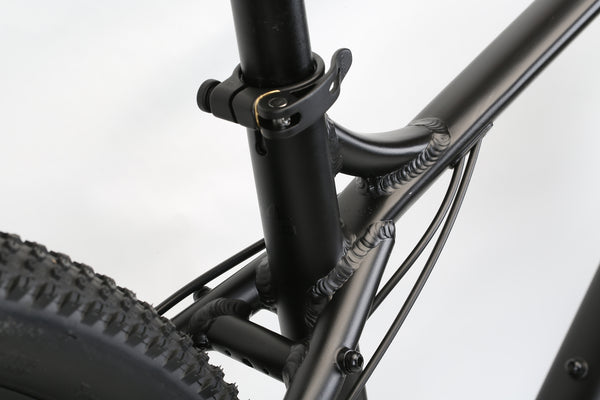 2020 Haro MTB FL Two 29 Matte Black Detail 3.