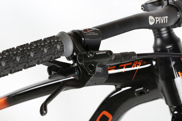 2020 Haro MTB Shift R5 29 Black Copper Detail 1.