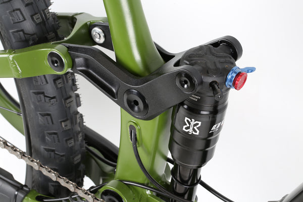 2020 Haro MTB Shift R7 29 Black Green Detail 5.