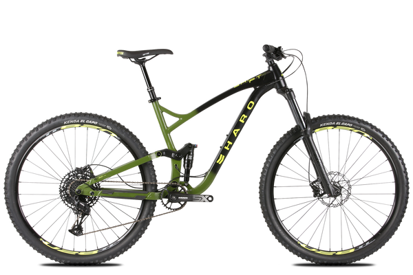 2020 Haro MTB Shift R7 29 Black Green.