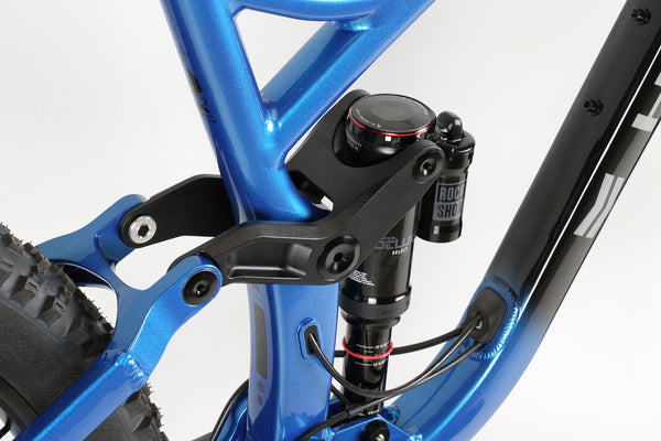 2020 Haro MTB Shift R9 275 Black Blue Detail 4.