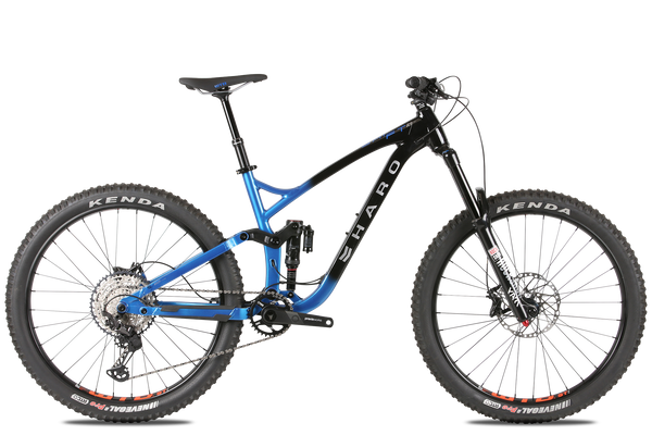 2020 Haro MTB Shift R9 275 Black Blue.