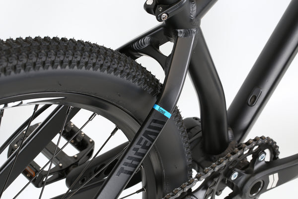 2020 Haro MTB Thread One Matte Black Detail 2.