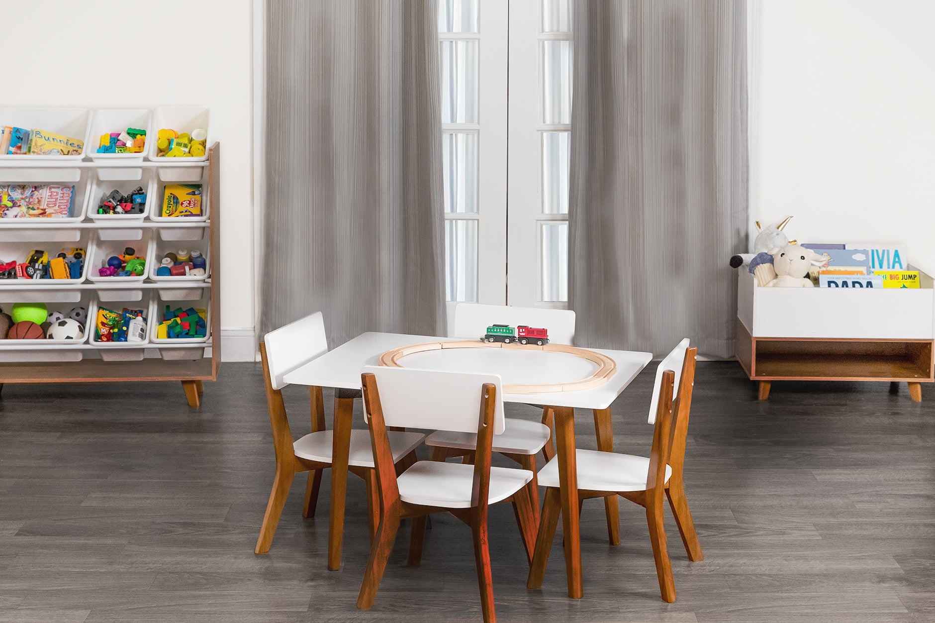 Function meets style. Introducing our Mid-Century Modern Kids Collection.