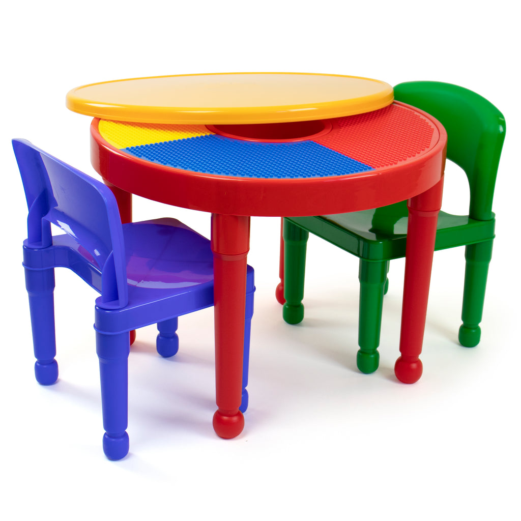 Primary 2-in-1 LEGO Compatible Activity Table