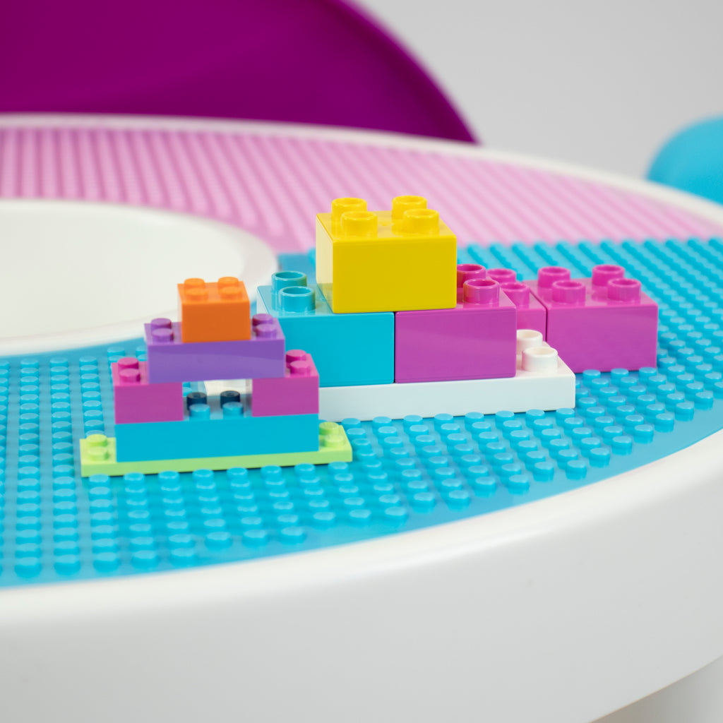 Forever 2-in-1 LEGO Compatible Activity Table
